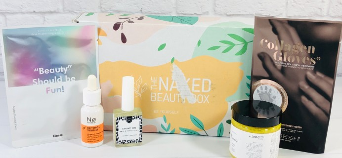 The Naked Beauty Box September 2020 Subscription Box Review + Coupon