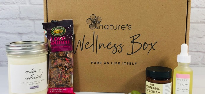 Nature's Wellness Box September 2020 Subscription Box Review