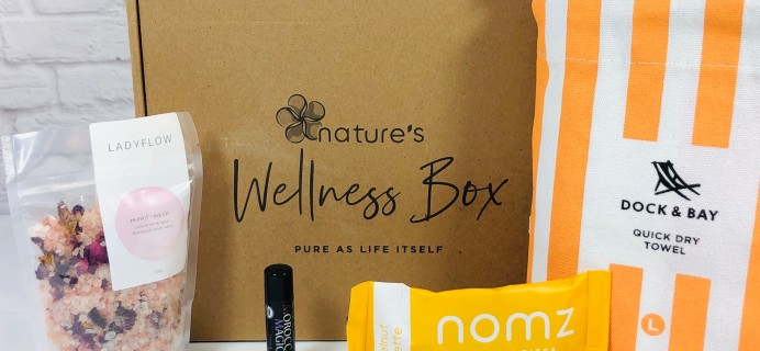 Nature's Wellness Box August 2020 Subscription Box Review