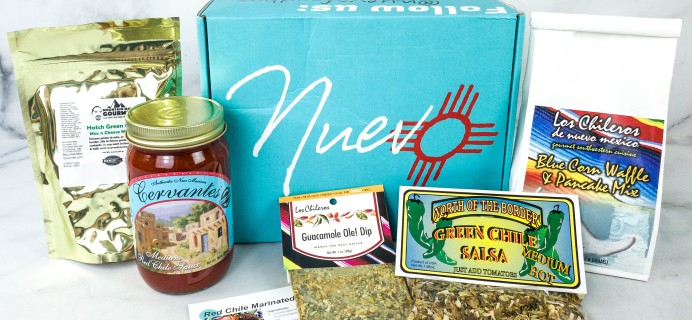 Nuevo September 2020 Subscription Box Review
