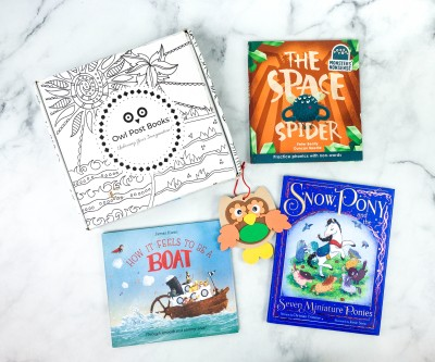 Owl Post Books Imagination Box September 2020 Subscription Box Review + Coupon