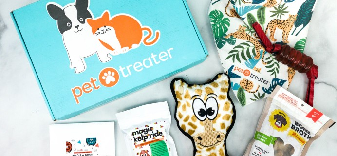 Pet Treater Deluxe Dog Pack September 2020 Subscription Box Review + Coupon