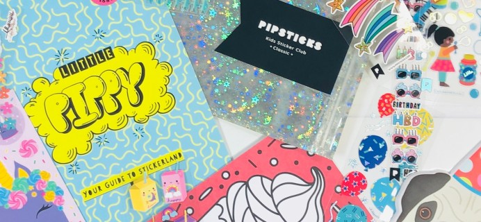 Pipsticks Kids Club Classic September 2020 Subscription Box Review + Coupon!