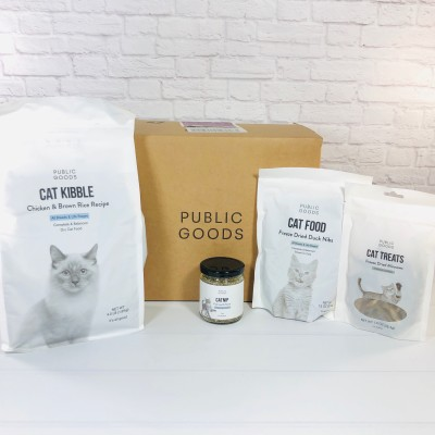 Public Goods Subscription Box Review + Coupon – September 2020 CAT BUNDLE