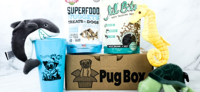 Pug Box August 2020 Subscription Box Review + Coupon