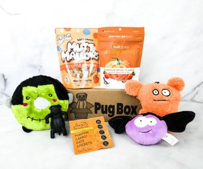 Pug Box September 2020 Subscription Box Review + Coupon