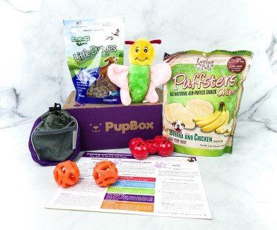 PupBox September 2020 Subscription Box Review + Coupon!