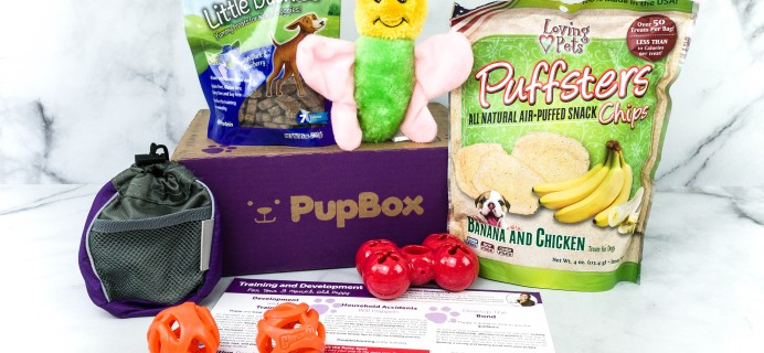 PupBox Black Friday Coupon: Get 90% Off Your First Dog or Puppy Box!
