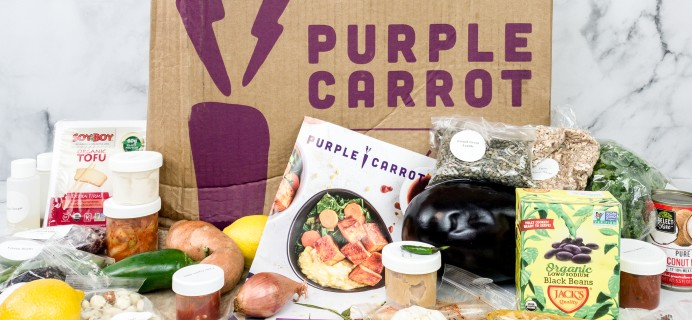 The Purple Carrot Subscription Box Review + Coupon