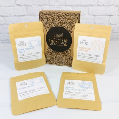 Simple Loose Leaf Tea September 2020 Subscription Box Review + Coupon!