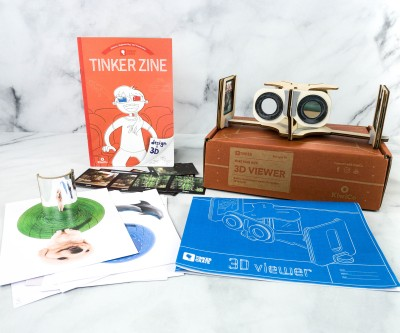 KiwiCo Tinker Crate Review & Coupon – 3D VIEWER