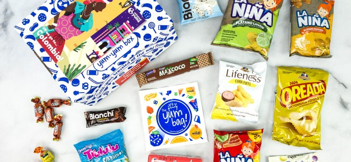 Universal Yums Subscription Box Review + Coupon – COLOMBIA