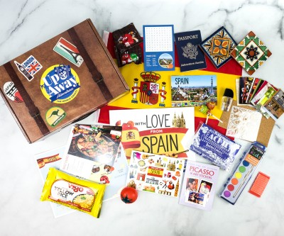 Up & Away Adventures Subscription Box Review + Coupon – SPAIN