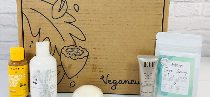 Vegancuts Beauty Box September 2020 Subscription Box Review + Coupon