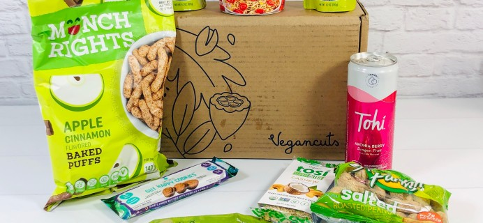 Vegancuts Snack Box September 2020 Subscription Box Review + Coupon