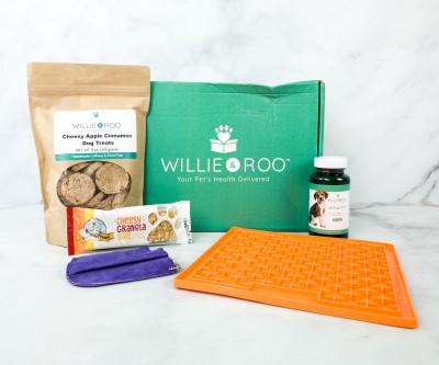 Willie & Roo September 2020 Subscription Box Review + Coupon