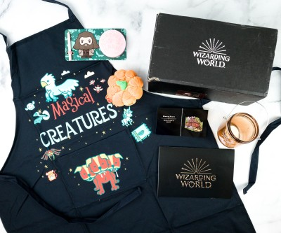 J.K. Rowling's Wizarding World Crate July 2020 Review + Coupon – HAGRID'S HUT