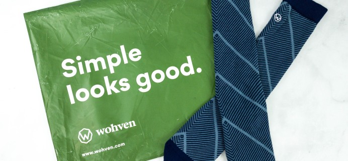 Wohven Socks Subscription September 2020 Review + Coupon!