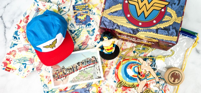 DC Comics World's Finest: The Collection Summer 2020 Box Review – Retro Wonder Woman