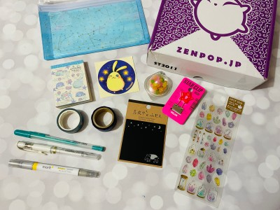 ZenPop Japanese Packs November 2020 Review + Coupon – Stationery Box