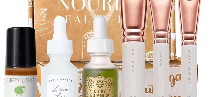 Nourish Beauty Box November 2020 Full Spoilers + Coupon!