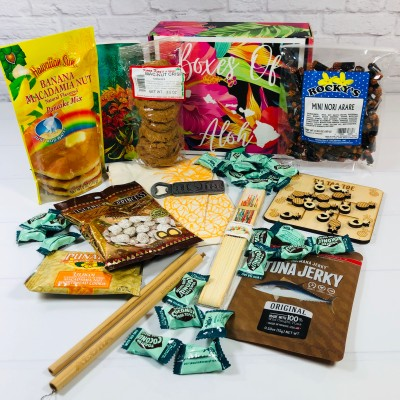 Boxes of Aloha October 2020 Subscription Box Review