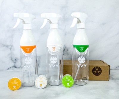 YVY Naturals Natural Cleaning Supplies Subscription Box Review + Coupon