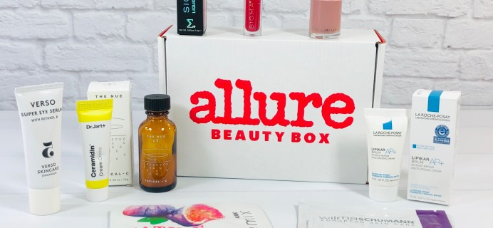 Allure Beauty Box October 2020 Review & Coupon