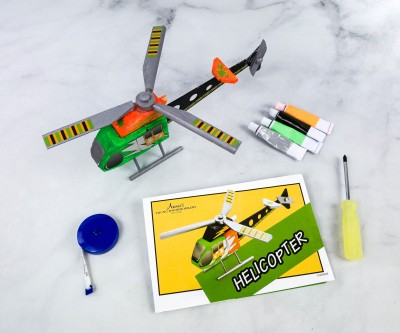 Annie's Young Woodworkers Subscription Box Review + Coupon – HELICOPTER