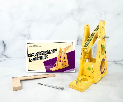 Annie's Young Woodworkers Subscription Box Review + Coupon – MARSHMALLOW LAUNCHER