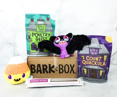Barkbox October 2020 Subscription Box Review + Coupon