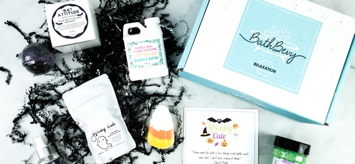 Bath Bevy October 2020 Subscription Box Review + Coupon