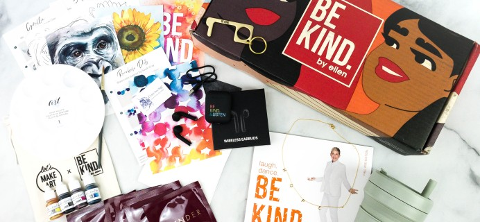BE KIND by Ellen Fall 2020 Subscription Box Review