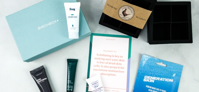 Birchbox Grooming November 2020 Subscription Box Review & Coupon