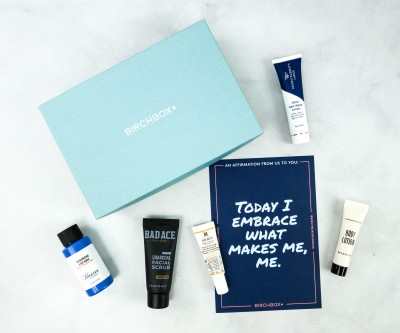Birchbox Grooming October 2020 Subscription Box Review & Coupon
