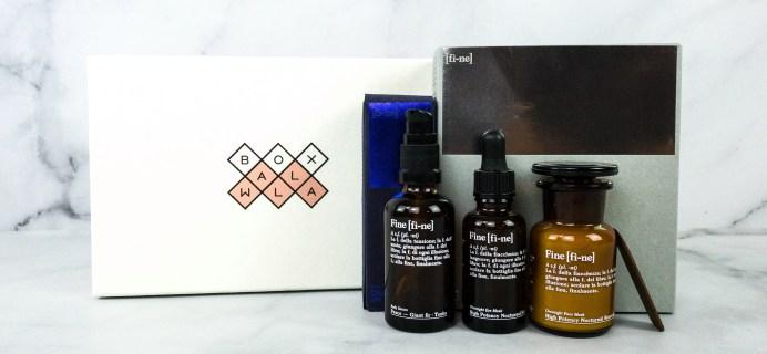 Boxwalla Fine Cosmetics Limited Edition Box Review