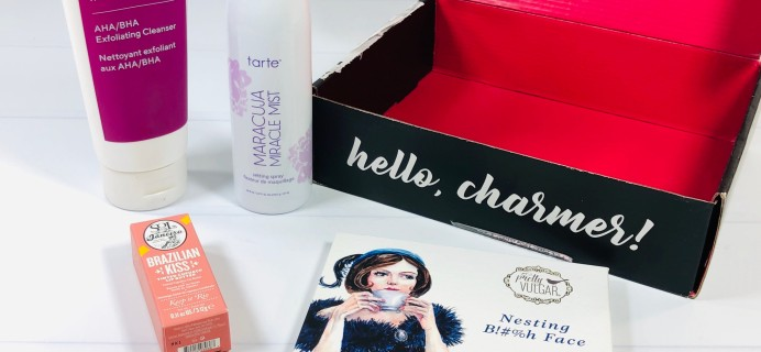 October 2020 BOXYCHARM Review