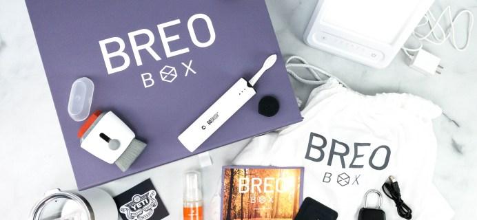 Breo Box Subscription Box Review + Coupon – Fall 2020