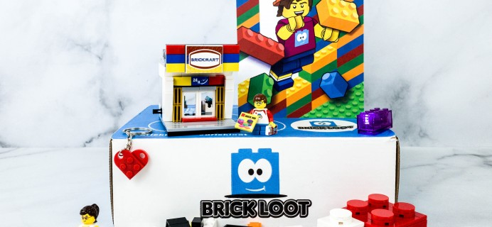 Brick Loot October 2020 Subscription Box Review & Coupon
