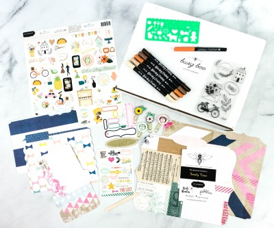 Busy Bee Stationery October 2020 Subscription Box Review