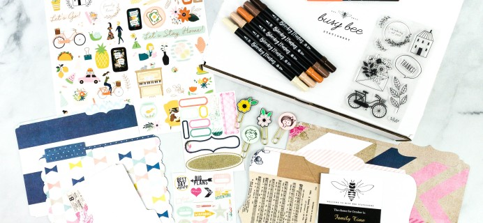 Busy Bee Stationery Black Friday Coupon: Save 25% on all subscriptions!