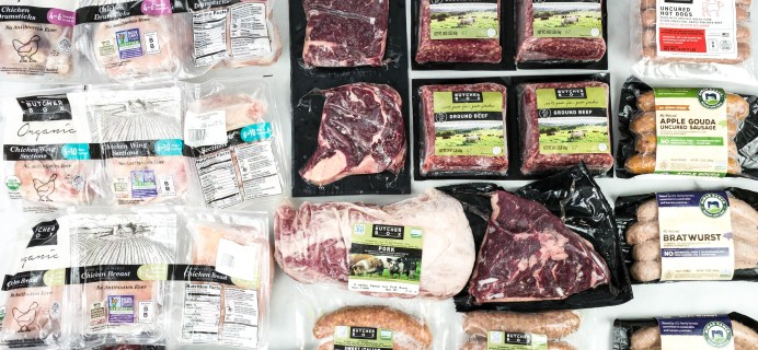 Butcher Box September 2020 Subscription Box Review – BEEF & PORK BOX