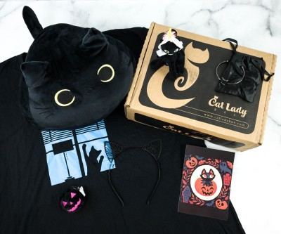 Cat Lady Box October 2020 Subscription Box Review – BLACK CATS