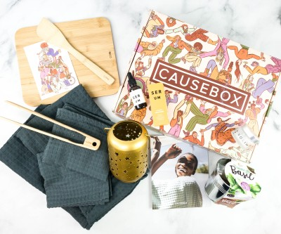 CAUSEBOX Fall 2020 Subscription Box Review + Coupon