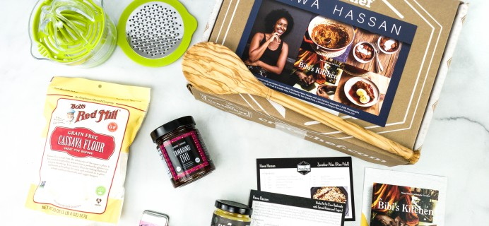 Crate Chef October 2020 Subscription Box Review + Coupon – Hawa Hassan