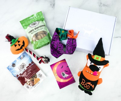 The Dapper Dog Box October 2020 Subscription Box Review + Coupon