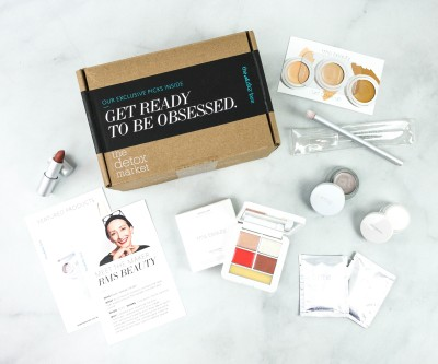 The Detox Box October 2020 Subscription Box Review