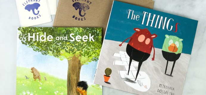 Elephant Books October 2020 Subscription Box Review – PICTURE BOOKS