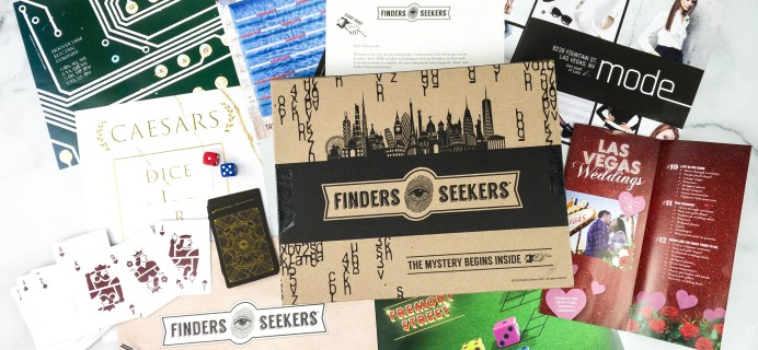 Finders Seekers Subscription Box Review + Coupon – LAS VEGAS