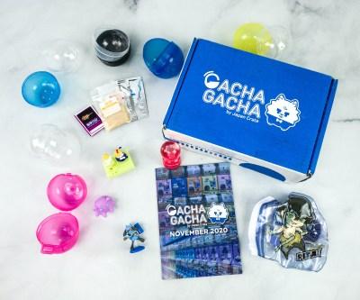 Gacha Gacha Crate November 2020 Subscription Box Review + Coupon